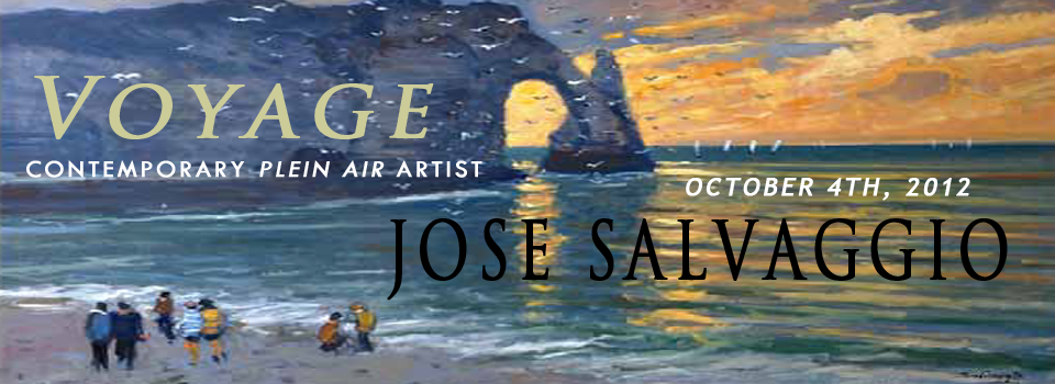 Contemporary Plein Air Artist Jose Salvaggio