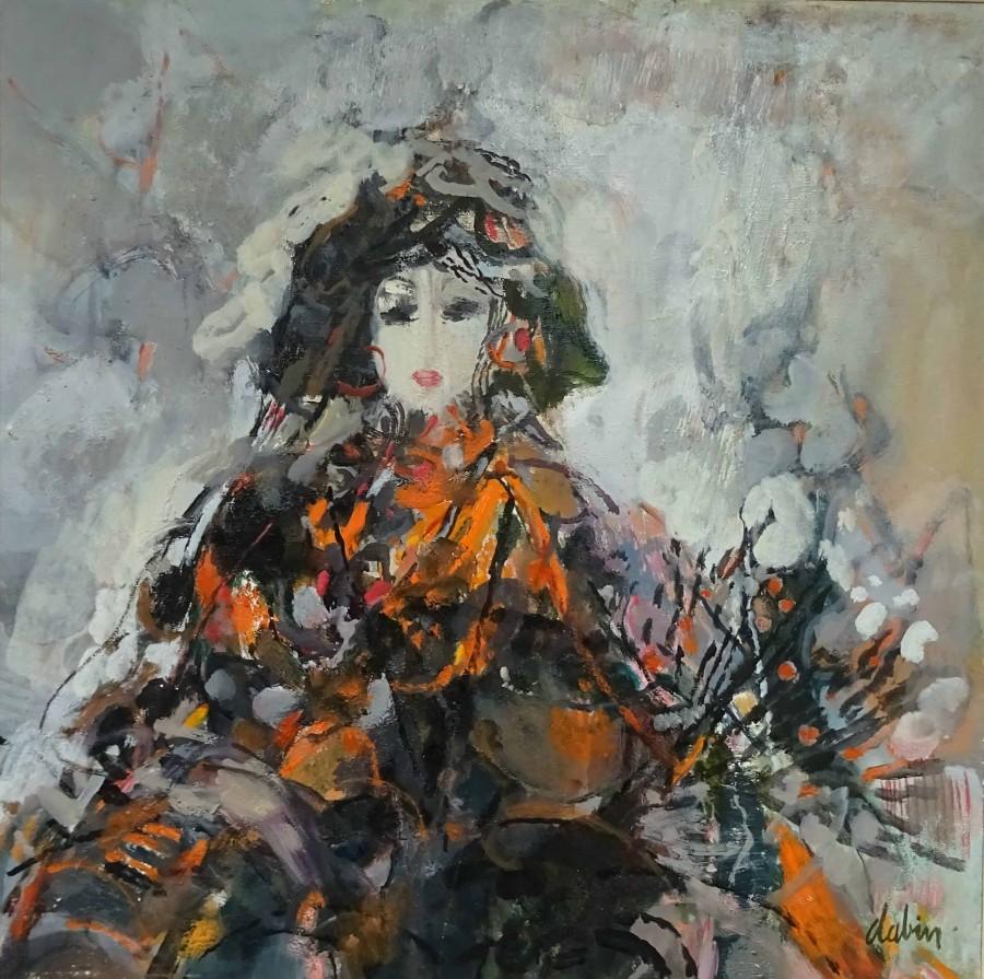 Jeune-fille--Andalouise | Joel Dabin (1933 – 2003) | Nolan-Rankin Galleries - Houston