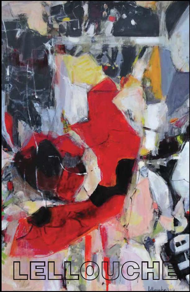 Michele Lellouche Inner Fire - Feb 2016 - One Woman Exhibition