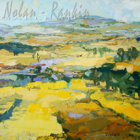 NR5469 Champs de Colzas 40 Paysage: 38.375 x 28.75 inches Renée THÉOBALD Nolan-Rankin Galleries - Houston