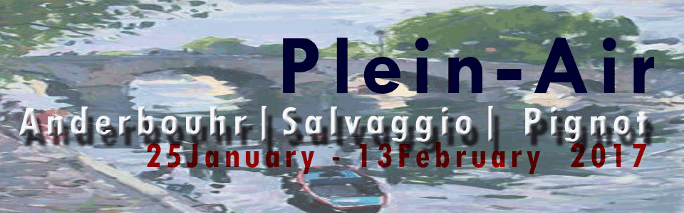 January 25th - February 13th | Pleain-Air Painters Anderbouhr Salvaggio Pignot Nolan-Rankin Galleries - Houston