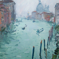Le Grand Canal | Paul Jean Anderbouhr | Nolan-Rankin Galleries - Houston