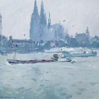 La cathedrle de Cologne Allemagne   Paul Jean Anderbouhr   Nolan-Rankin Galleries - Houston