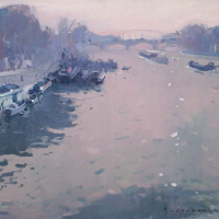 Pont des Austerlitz | Paul Jean Anderbouhr | Nolan-Rankin Galleries - Houston