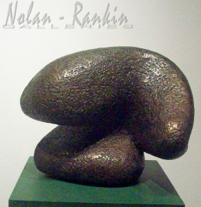 Liquide | Bronze | Pierre Mouly | Nolan-Rankin Galleries - Houston