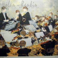 lithograph | Concert | Renee Theobald | Nolan-Rankin Galleries - Houston