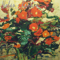 lithograph | Fleurs | Renee Theobald | Nolan-Rankin Galleries - Houston