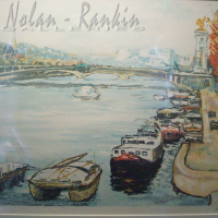 lithograph | Pont Alexandre III | Renee Theobald | Nolan-Rankin Galleries - Houston