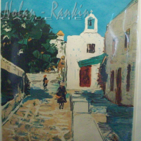 lithograph | Grece | Renee Theobald | Nolan-Rankin Galleries - Houston