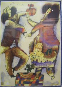 Tobiasse   Lithograph   38 x 27 inches