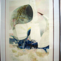 Paul Ambille Lithograph 1990
