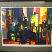Marcel Mouly Lithograph 1984