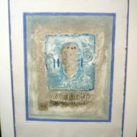James Coignard Emobssed Lithograph