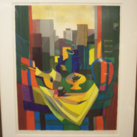 Marcel Mouly Lithograph - San Francisco
