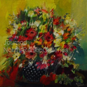 "Bouquet | NR2071| 60cm x 60cm: 23.5"" x 23.5"" 