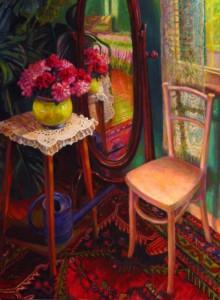 NR2894 La psychee 60 Figure: 51.187 x 38..187 inches William Michaut   Nolan-Rankin Galleries - Houston