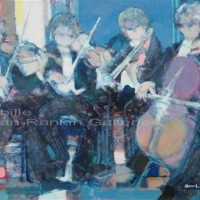 "Petits Musiciens NR3259B 10 Paysage: 21.5"" x 14.75"" Paul Ambille Oil on Canvas 